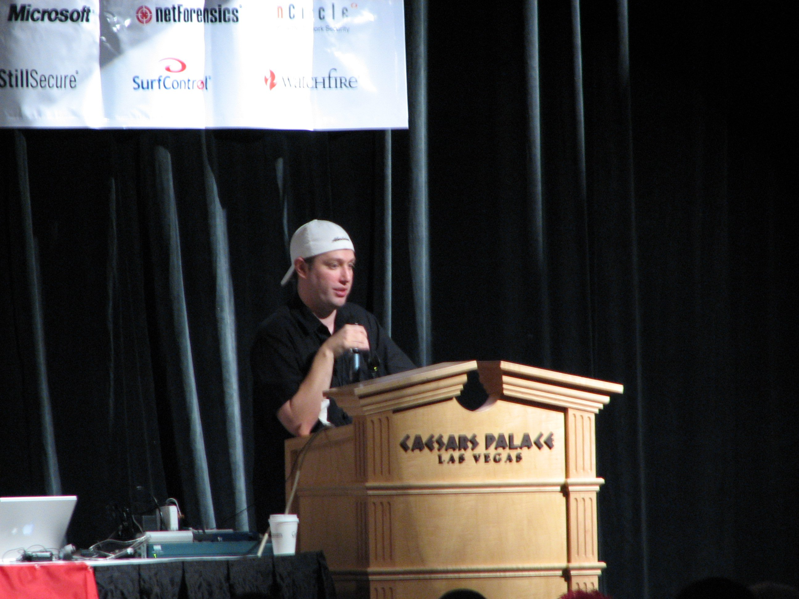 Mike Flynn at Black Hat USA 2005