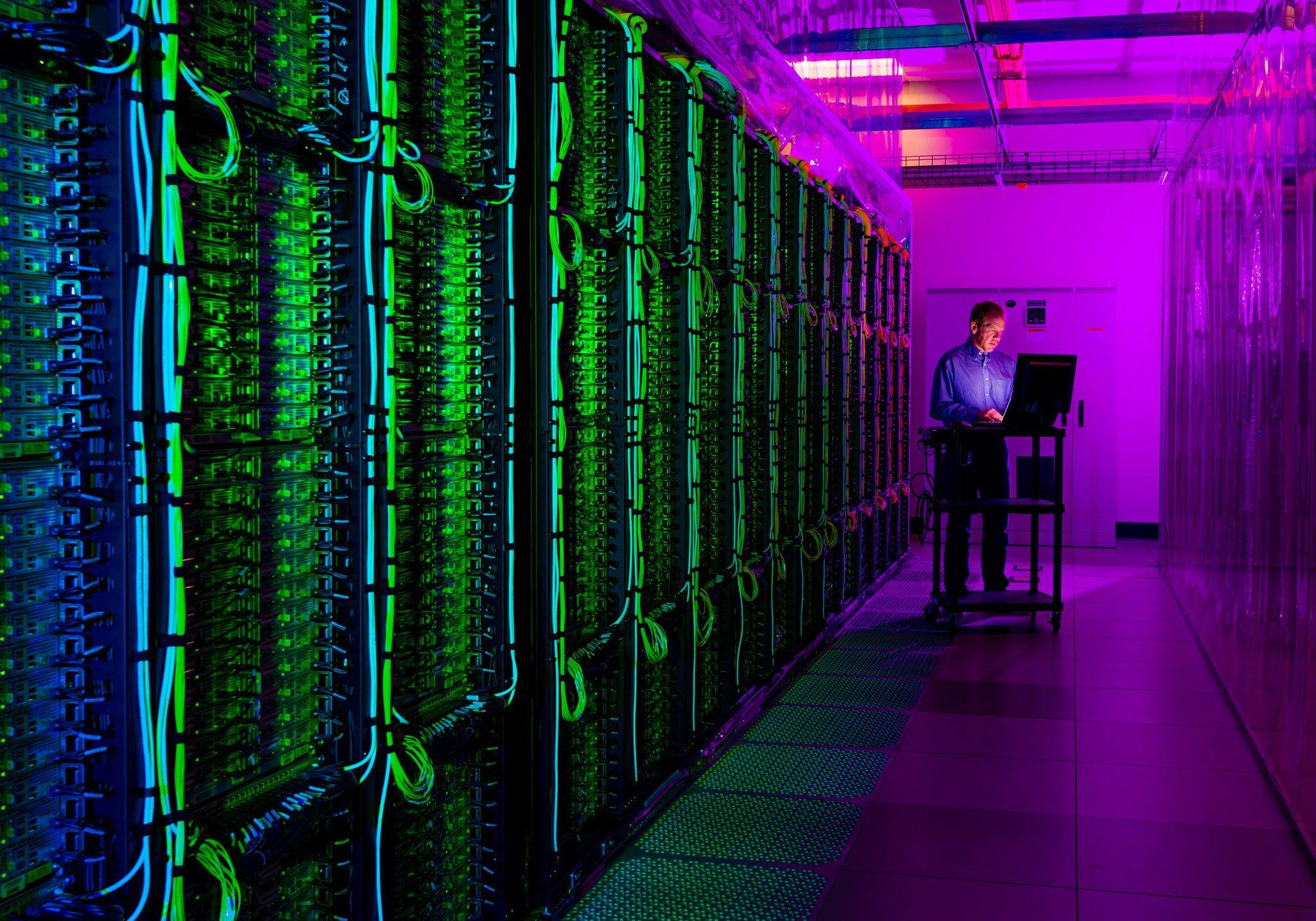 Microsoft's Quincy Washington data center