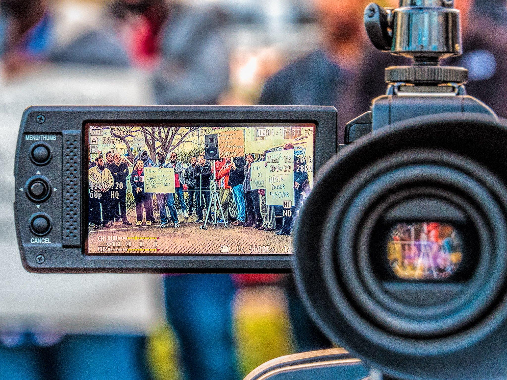 Camera Protest