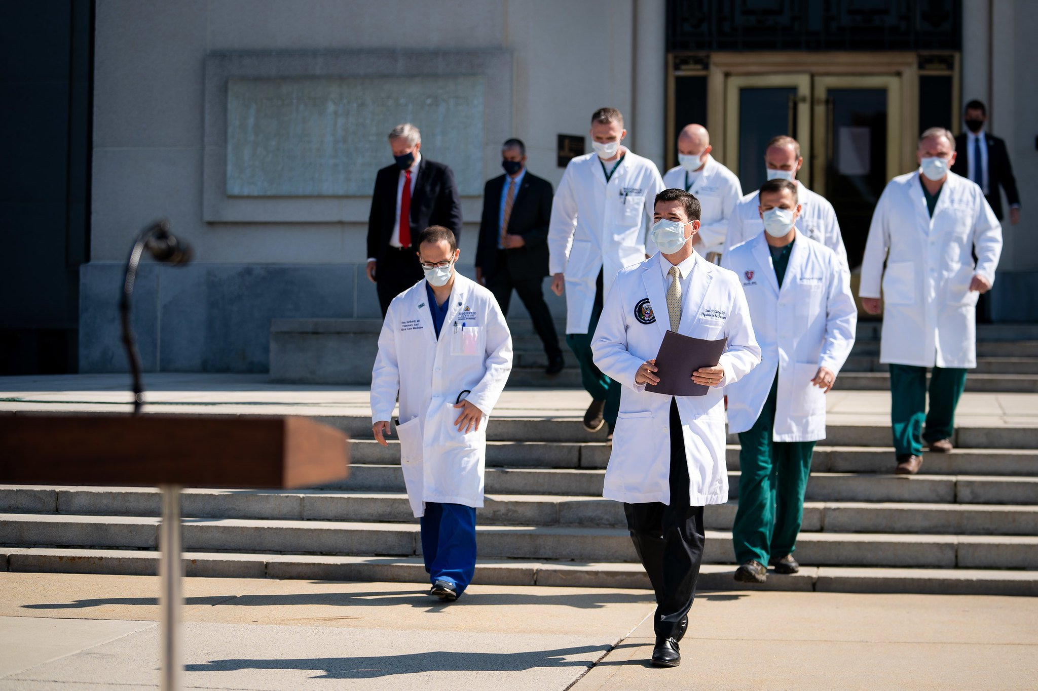 Trump's team of doctors