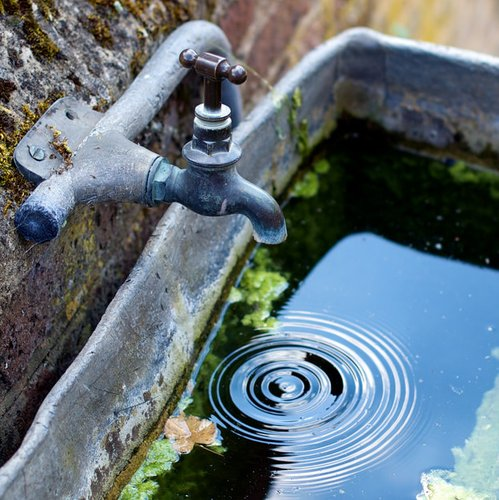 Faucet Drop by flickr/johnonolan CC-BY