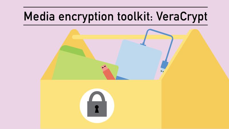 Media encryption toolkit: Veracrypt