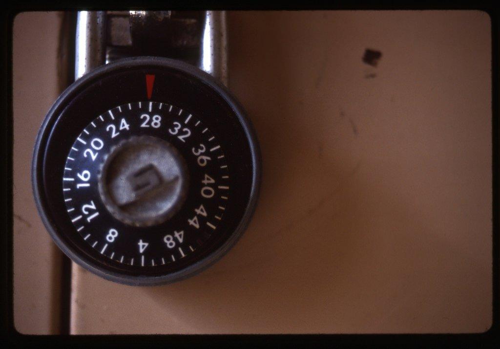 Combination lock header