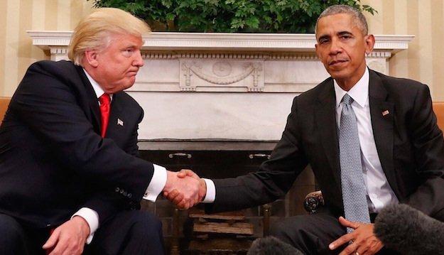 obama trump meeting