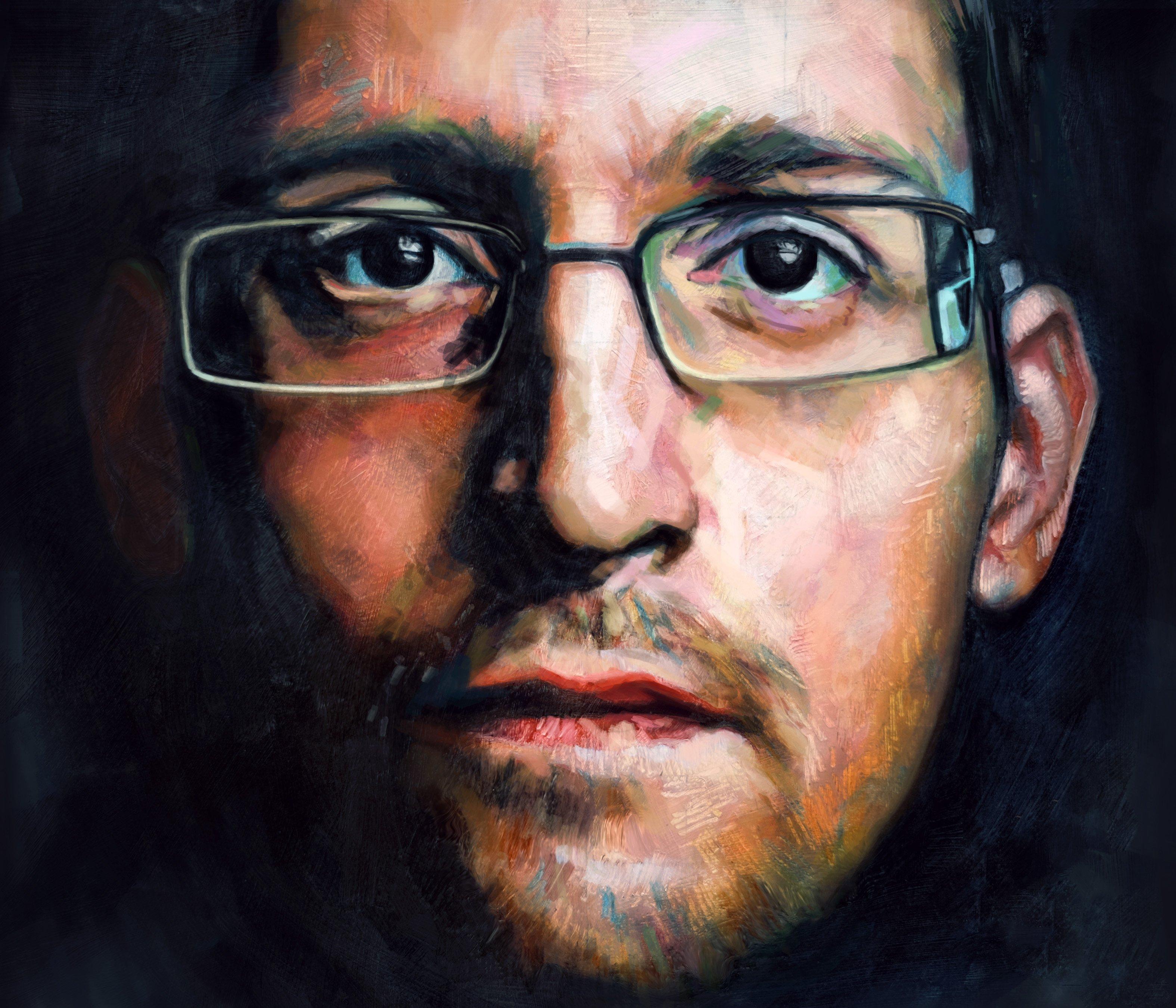 Snowden art