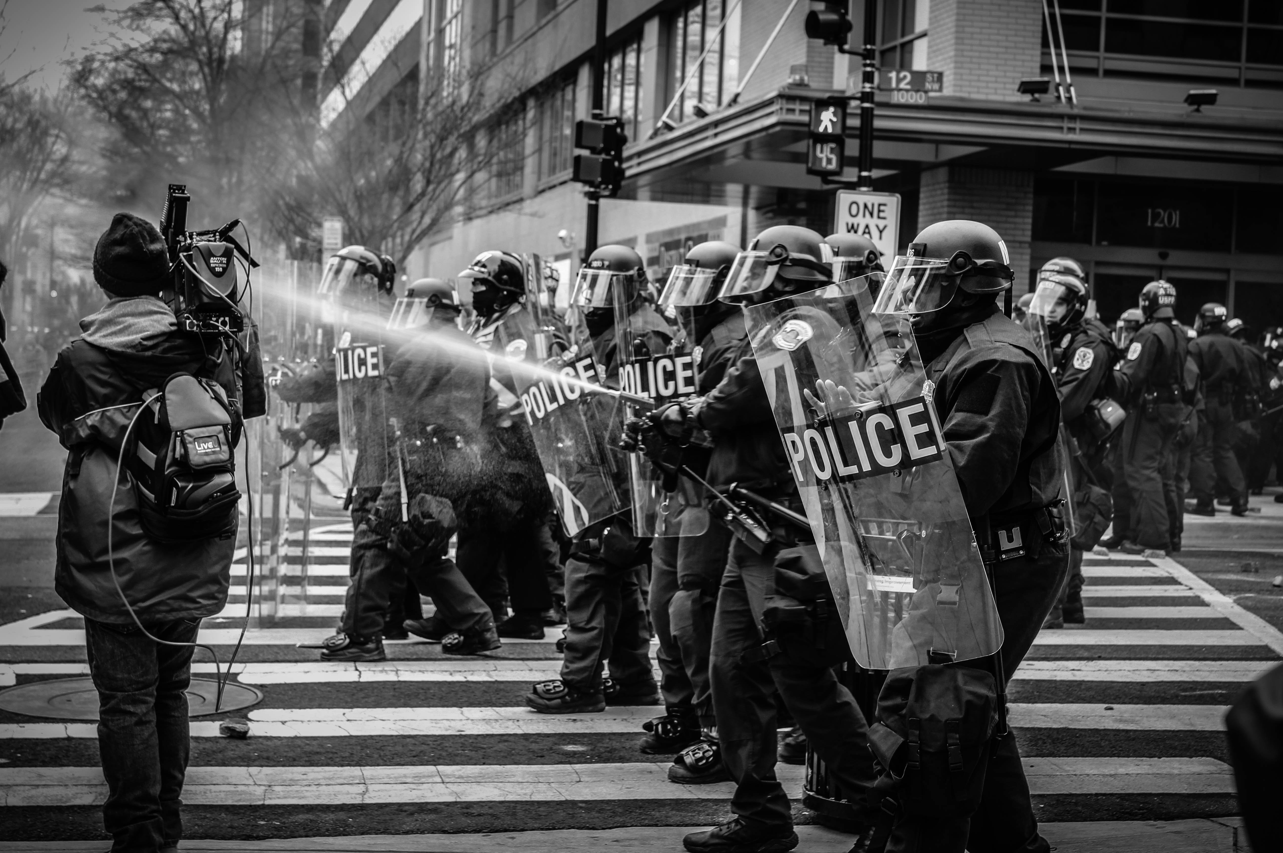 Press vs. Police